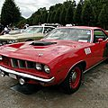 Plymouth Cuda 383 hardtop coupe - 1971