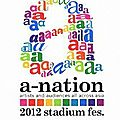 Cover & <b>Setlist</b> d'Ayu sur le DVD/Blu-ray du a-nation '12
