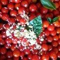 Linguine con pomodorini e basilico fresco