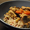 Blanquette de Veau au <b>Curry</b>