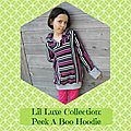 Lil Luxe Collection Blog Tour: Peek A Boo Hoodie