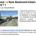 FACE AU C.I.Q. DE VALLON DE TOULOUSE..... LE MESSAGE EST CLAIR