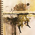 <b>Mix</b> Media / Art Journal / Un vent de folie...