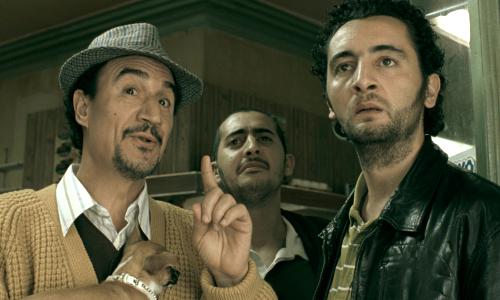 Mohamed Fellag, Mourade Zeguendi et Nader Boussandel