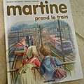 ALBUM MARTINE PREND LE TRAIN