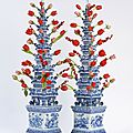Aronson Antiquairs to unveil 17th century Delft <b>pyramidal</b> tulipières at the Winter Antiques Show