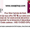 Ce Week-end avec OSEZ <b>PIN</b> <b>UP</b>