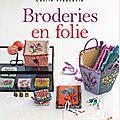 Broderies en Folie.....