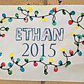 Calendrier 2015 d'Ethan