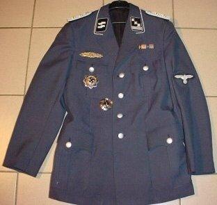 veste capitaine SS