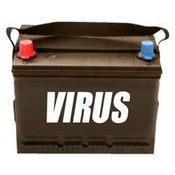 virus batterie