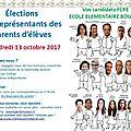 <b>Election</b> des parents d'élèves le 13 octobre