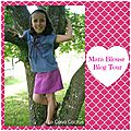 The Mara Blouse Blog <b>Tour</b>