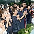 <b>Jolin</b> attends the Buddha bathing ceremony in Taipei