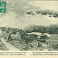 Un curé fusillé - incident Hispano-Allemand - Dernière heure - Un zeppelin abattu à Badonvillier.