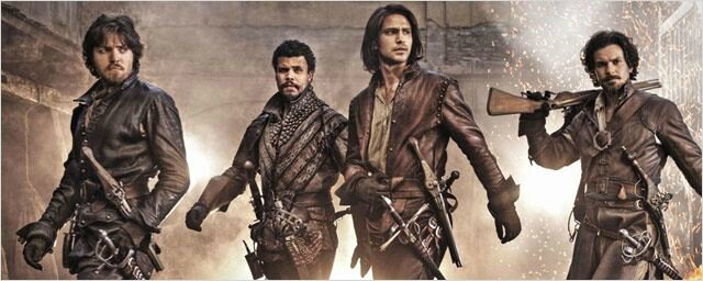 The Musketeers BBC 93025744