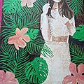 <b>Tableau</b> customisé jungle