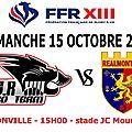 Rugby XIII : C'est la reprise, les Ramonvillois recoivent l'équipe de Réalmont en championat de France National.