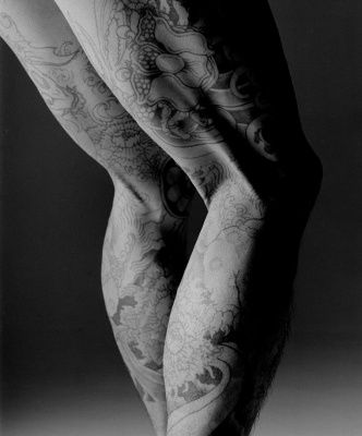 Gao Yuan: Japanese Yakuza Tattoo. photo courtesy http://gaoyuanartist.com