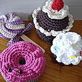 Atelier Crochet : Gourmandises au crochet