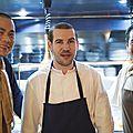 Porte 12, le <b>restaurant</b> d'Andre Chiang et Vincent Crepel