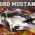 Plakát Ford Mustang - <b>Poster</b> Ford Mustang