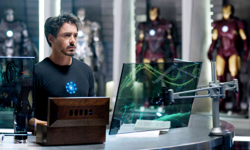 Robert Downey Jr. dans Iron Man 2
