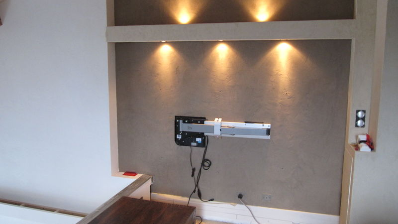 Installer sa tv au mur conseils astuces et photos page 111 29883755 - Support tv mural design ...