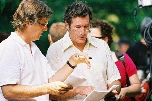 Le réalisateur Lasse Hallstrom & Richard Gere