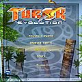 options et parametres <b>pc</b> turok evolution