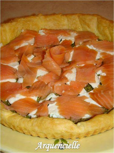 Tarte froide saumon pesto mozarelle 52628675_m