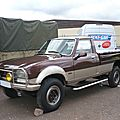 PEUGEOT 504 pick-up Dangel <b>4x4</b>