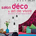Work in progress : Salon <b>Déco</b> Art de Vivre Lyon