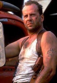 Bruce Willis dans Die Hard 3