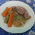Tête de veau aux 3 sauces ( Gribiche et ravigote chaude ou froide )