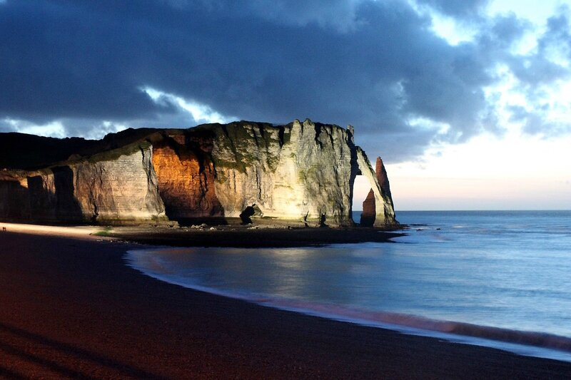 16-Normandie - Etretat (by night)_0673