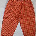 *Pantalon clown, <b>18</b> <b>mois</b>