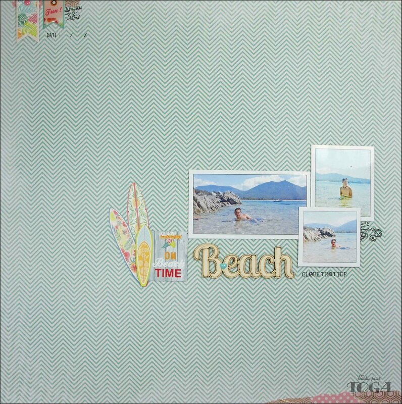 page Collection Waikiki Beach DT Tacha 1p