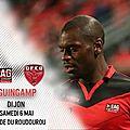 Résumé <b>Guingamp</b> - Dijon buts 4-0
