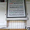 Tableaux déco / Trendy/ papier peint <b>personnalisé</b>/ Les Règles de La Maison