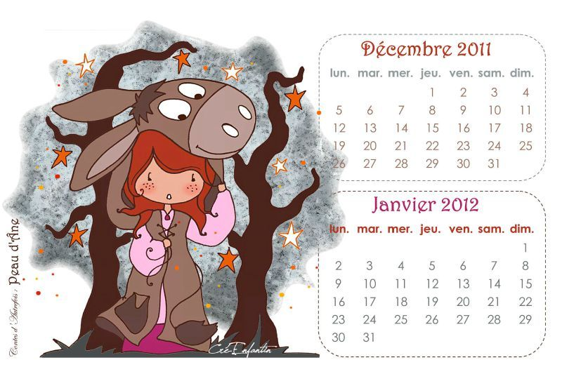 Calendrier DEC-JAN12