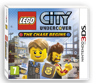 l go city undercover the chase begins sur nintendo 3ds gamezik. Black Bedroom Furniture Sets. Home Design Ideas