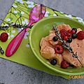 Frozen yogurt <b>Abricot</b> lavande