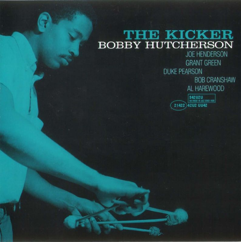 bobby hutcherson - the kicker (sleeve art)