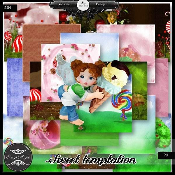 Sweet temptation de Scrap'Angie