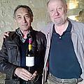 Dégustation des vins de Denis Barraud : La Cour d'Argent, Les Gravières, et Lynsolence dans le millésime 2012