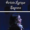 Eva Tamisier - Artiste Lyrique