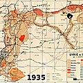 1930 - LA FRANCE ADMINISTRE LA SYRIE ET LE LIBAN D'UNE MAIN DE FER