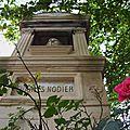 Tombes célèbres, Charles Nodier