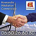 Normandie <b>Médiation</b> Commerciale - 06 50 26 80 80 - Nicolas Fouché